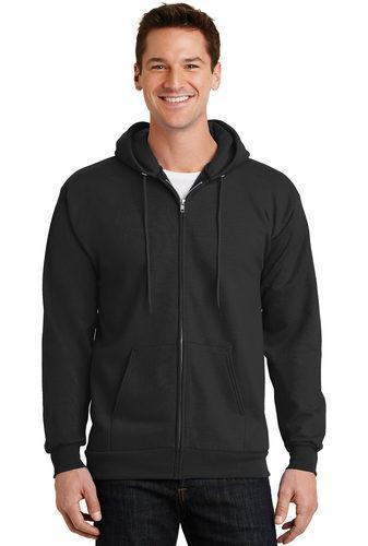Fleece Full-Zip Hooded Sweatshirt (PC90ZH)