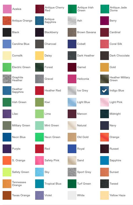 5000_ColorChart