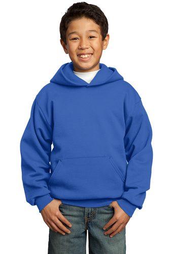 Port & Company  Fleece Pullover Hooded Sweatshirt – Youth