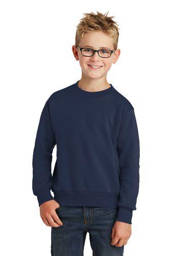 Port & Company  Fleece Crewneck Sweatshirt – Youth