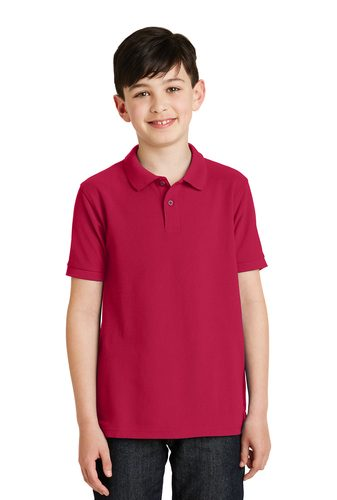 Port Authority Silk Touch™ Polo – Youth