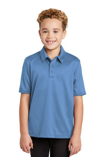 Port Authority Youth Silk Touch™ Performance Polo