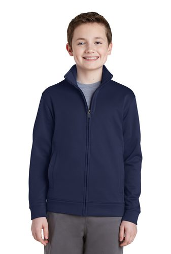 Sport-Tek Fleece Full-Zip Jacket – Youth
